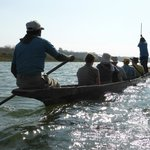 Dug out canoe