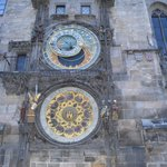 The amazing Astronomical Clock in Old Town Squrae