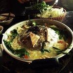 Amazingly delicious tofu hotpot