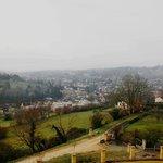 La vue sur Sarlat et la vallée de la Dordogne depuis la suite