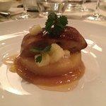 foie gras sur coing confit : parfait