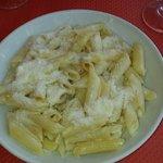 Penne quatre fromages