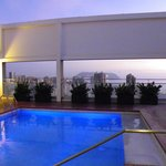 Rooftop Pool area with views