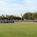 Friday Parade on the grounds of the Citadel