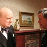 Talking politics with Churchill