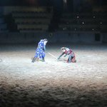 Jousting and someone has to lose