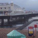 Blustery seaside