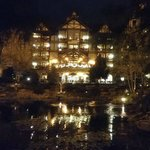 view of the inn at night.... gorgeous!