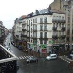 vue du balcon à gauche