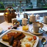 The delicious full english breakfast