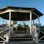 the beachside gazebo