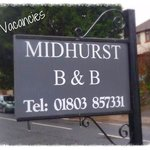 We Welcome you to Midhurst B&B