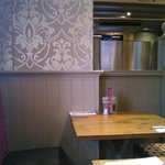 Cosy booth