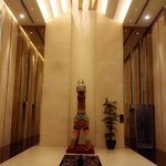 The Warak in the lobby