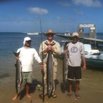 first half day barracuda and wahoo