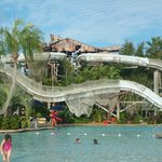 Crush N Gusher Water Slides - They are like roller coasters! Best ones.