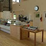 Servery & kitchen providing healthy meals and naughty snacks, gourmet coffee and soft drinks