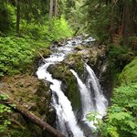 Sol Duc Falls in nearby Olympic National Park