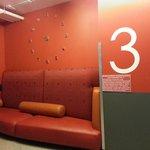 The Orange Lounge Area in 3rd Floor