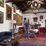 Great reception hall of the Casa