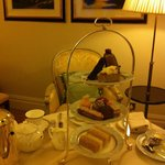 afternoon tea in our room