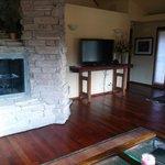 Fireplace/TV