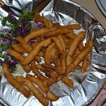 "Fried Calimari (the freshest you will taste anywhere) ""a #1 TOP taste plate"""