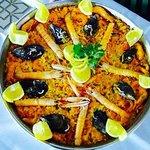 Nuestra Paella de Mariscos