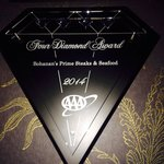Four diamond award 2014