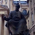 Sorbonne, statue de Pasteur