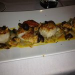 Scallops at Dashi's