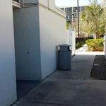 Entrance to elevator lobby