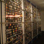 Wall of HHOF pucks