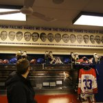 Montreal Canadiens locker rom replica