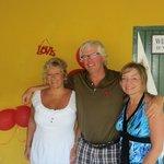 Tena, Rick Cameron and Sandi Adair