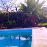 The pool at Villa Azul