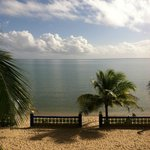 "morning coffee view   ""Coconut Row"""