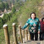 Ascending Xianggong Mountain, Yangshuo