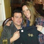 Chris & Emily (with Hartwell House Tee-Shirt!) Feb 2014