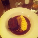 braised beef, most tender meat I've ever tasted