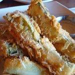 Fried Zucchini, Claim Jumper, 820 W Huntington Dr, Monrovia, CA
