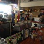 sitting at the shellfish company bar5