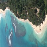 Aerial View of Flamenco Beach