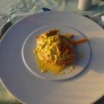 repas au restaurant italien
