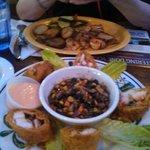 seafood & crab rolls!!!!