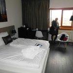 Erster Eindruck im Hotelzimmer