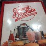 Johnny Rockets menu!