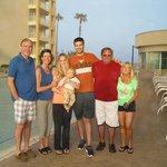 Family Visit to Resort