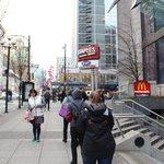 24 Hours McDonald outside -