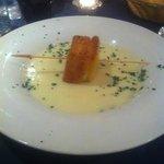 crema di patate con mozzarella in carrozza